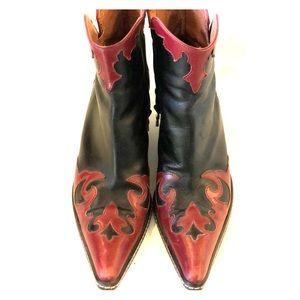 Stuart Weitzman Cowboy Booties